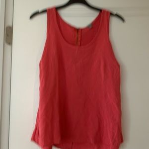 Charlotte Russe tank top with zipper